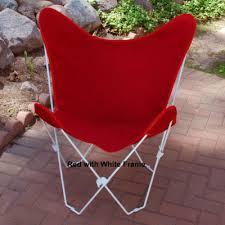 Butterfly Chair Cover Butterfly Chair Cover With White Frame 2 Pc Patiolounge Chair