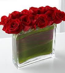 Long Stem Rose Vase Dozen Premium Long Stem Roses Vase U2013 Posies Flower Studio Inc