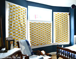 Roller Blinds Fabric How To Recover Roman Shades No Sew Home Stories A To Z