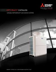 mitsubishi electric cooling and heating logo city multi c a t a l og mitsubishi electric cooling u0026 heating