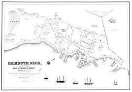 Map Of Portland by The Coolest Map Of Portland Maine You U0027re Going To Find U2014 In 1775