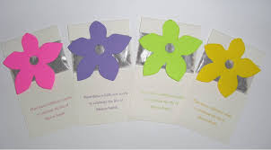 Memorial Service Favors Wildflower Seed Packets With Flowers Idea For Life Celebration