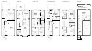 3 storey townhouse floor plans valley park collection freedom town livingfreedom town living