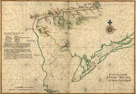 13 Colony Map Map Of Delaware Bay