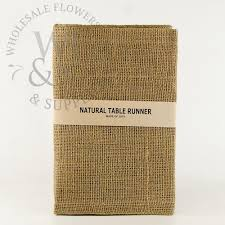 burlap table runner wholesale flowers and supplies