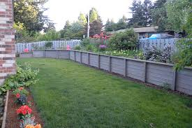 Backyard Retaining Wall Ideas Retaining Wall Ideas Hill