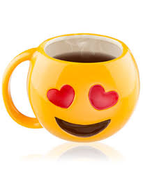 gees coffee mugs drinkware modeled after classic texting emojis