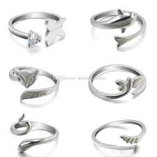 dolphin engagement ring the new fashion animal dolphin ring opening minimalist