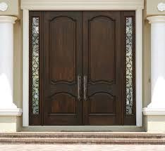 Exterior Wood Door Manufacturers Entrance Doors Wood Door With Wrought Iron