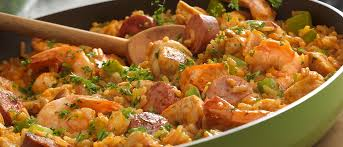 louisiana cuisine history louisiana style chicken sausage shrimp skillet recipe