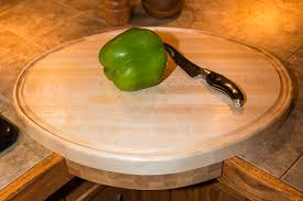 Countertop Cutting Board Unique Hard Maple Oval Cutting Board With Juice Groove And