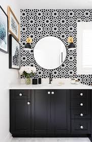 Fabulous Wallpaper In Bathroom With Nice How To Wallpaper A Bathroom With Additional Inspirational