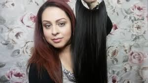 free hair extensions free hair extensions review trying them on for the 1st