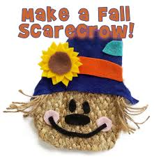 fall scarecrow kids craft and free pattern woo jr kids activities