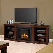 decor dark wood tv stand with home depot electric fireplaces and