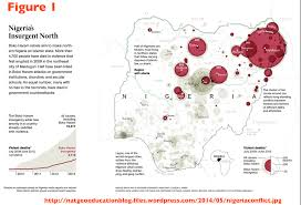 Map Of Nigeria Africa by Is Poverty The Root Cause Of Boko Haram Violence Geocurrents