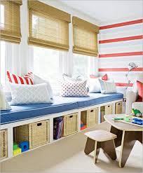 cream wooden storage shelves on the floor white wood bed frame