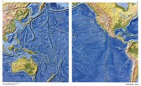 Ocean Map World by Large Detailed Relief Map Of Pacific Ocean Other Maps Of The