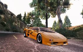 yellow lamborghini png lamborghini diablo sv 1997 add on replace template pop up