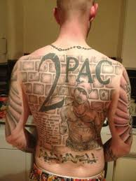 sicc 2pac back tatt represent tatts pinterest 2pac and tatt