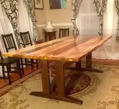 Maple Dining Room Sets Logan U0027s Live Edge Spalted Maple Dining Table The Wood Whisperer