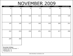 2009 free printable calendars free printable calendars