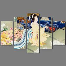 home decor japan big size japan style kimono lady picture decoration japanese