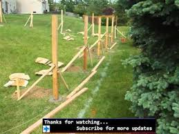 Backyard Fence Ideas Pictures Dog Fence Ideas Fences For Outdoor Pets Youtube