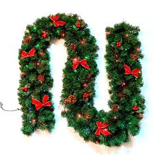 Christmas Garland With Lights by Compare Prices On Lighted Artificial Christmas Trees Online