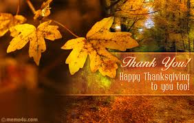 thanksgiving thank you card thanksgiving thank you ecard