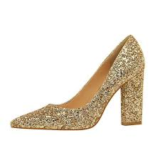 wedding shoes high new wedding shoes high heels gold silver women pumps special