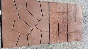 Interlocking Slate Patio Tiles by Flagstone Rubber Pavers U2013 Rubber Floors And More