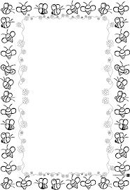 printable snowflake writing paper printable frames and borders