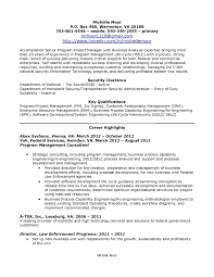Examples Of Federal Government Resumes by Famous Resumes Free Resume Example And Writing Download