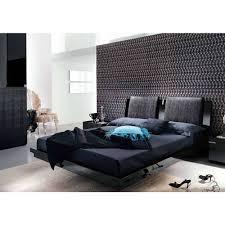 Black Leather Platform Bed Bedroom Sweet Bedroom Design Ideas Using Black Leather Platform