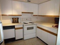 Laminate Kitchen Cabinets Bathroom Update How To Paint Laminate Cabinets Shiplap