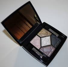 golden color shades dior 644 golden snow 5 couleurs eyeshadow palette swatches review