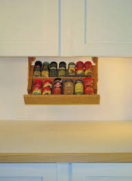 Sliding Spice Rack Kitchen Pull Down Spice Rack Spice Racks For Walls Spice
