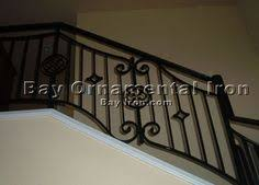 ornamental iron stair railing details design
