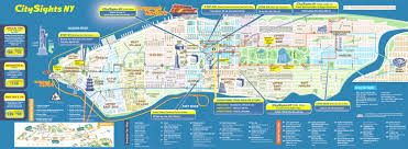 map of manhattan large detailed city sights map of manhattan new york nymap