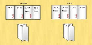 brochure 4 fold template 4 fold brochure template word 14 standard types brochure size in