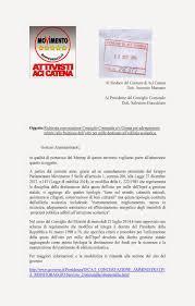 convocazione consiglio dei ministri movimento 5 stelle aci catena settembre 2014