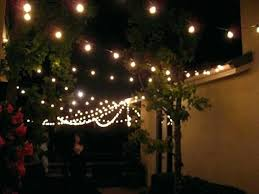 Diy Patio Lights by Poles To Hang String Lights Cafe String Lights Diy Outdoor String