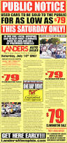 landers auto sales tn public notice used cars to be sold to the