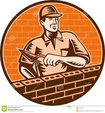 mason worker brick layer trowel royalty free stock photos image