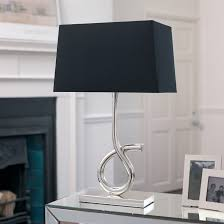 rectangular l shades for table ls rectangle l shade tramini endon lighting silver plated table