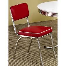 Red Kitchen Set - retro red kitchen chairs video and photos madlonsbigbear com
