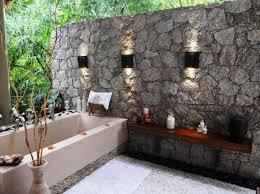 outside bathroom ideas build a spa style outside bathroom in your garden