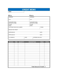 credit memo form credit memo template 13 free word excel pdf