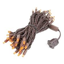 plain ideas brown wire lights mini sets 100 light 2 5